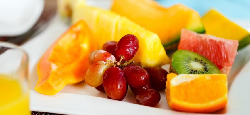 Kalorické tabulky - ovoce